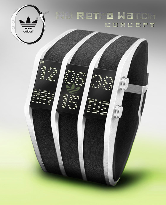 adidas nu retro watch