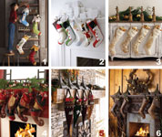 Kickstyle selection of Christmas Handcrafted Stockings