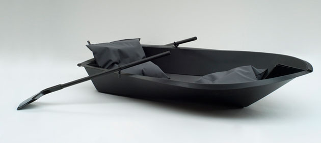 Stylish Folding Boat - float in style