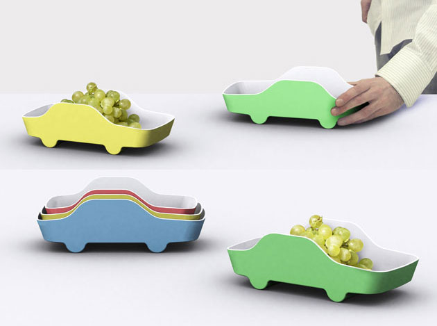 Extremely practical kitchen appliances by Tomas Kral - Big Race Bowl