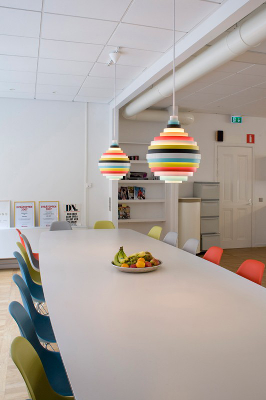 PXL pendant lamp to pixelate and color a truly vital interior