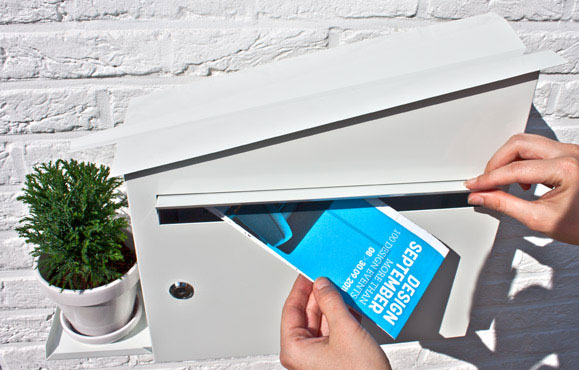 Practical mailbox with smart and aesthetic design