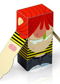 free paper toy