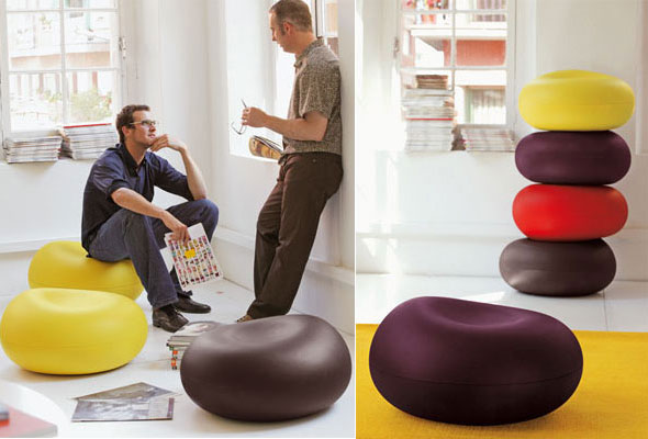 Impressive Sit in Style suggestions by Emilie Design Studio - Tomato Pouf