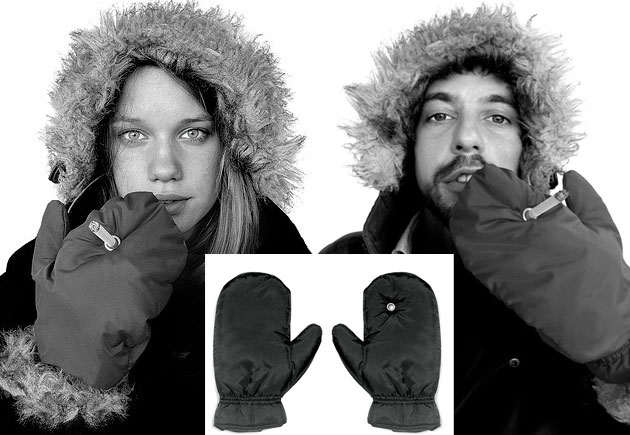 Practical and Stylish Smoking Mittens