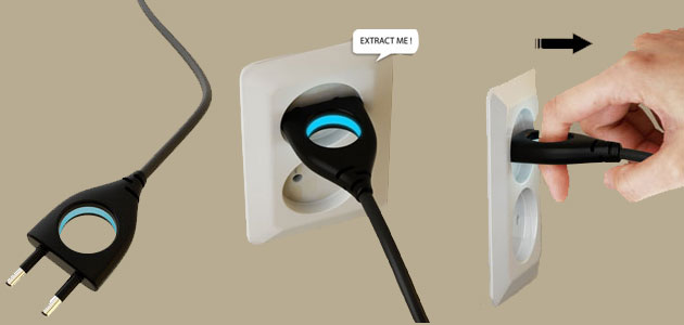Universal, stylish and safe plug