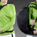 REVERSE backpack – practical equipment for extreme winter rides