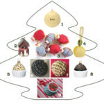Kick Style selection of tasty Christmas tree decorations