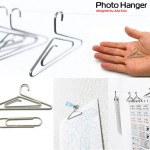 PhotoHanger – mini hanger clip to hang your photos in style