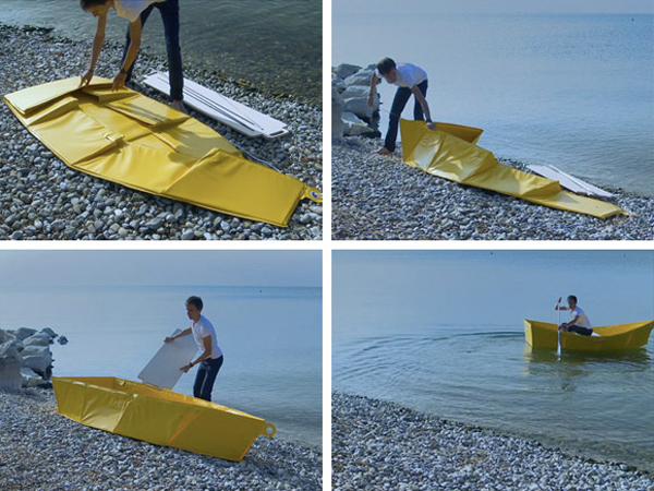 Collapsible Boat by Thibault Penven