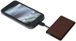 Credit Card Size Cell Phone Charger