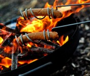 Hot Dog Roasting Sticks