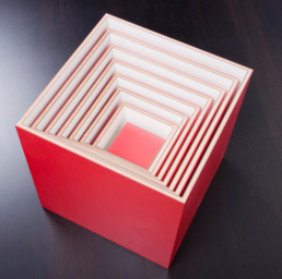 The 1-7 Shelf Box System