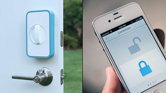 Lock your door remotely with your iphone